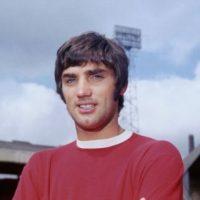 7- Geroge Best, exfutbolusta inglés; ganador del Balón de Oro en 1968. Foto:Getty Images