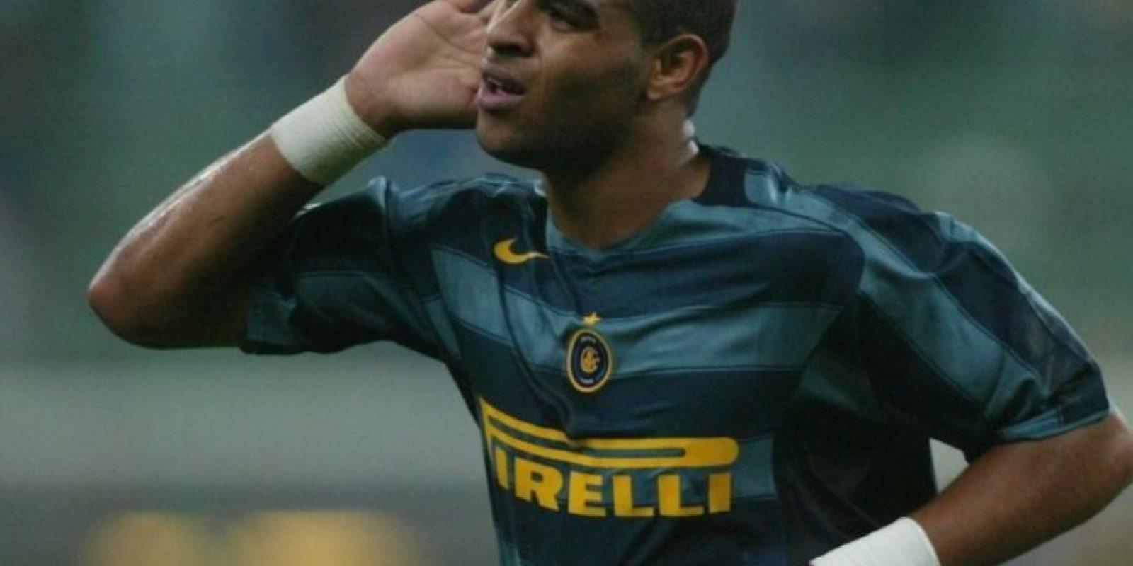 10- Adriano Leite, futbolista brasileño ganador de la Copa América 2004 y la Copa Confederaciones 2005. Foto:Getty Images