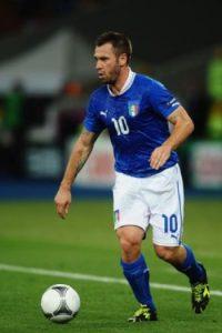 11- Antonio Cassano, futbolista italiano que ha pasado por el Real Madrid. Foto:Getty Images