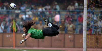 Video: René Higuita reeditó