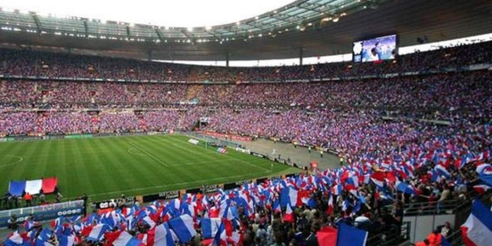 El Parque de los Príncipes es donde juega la escuadra francesa. Foto:vía facebook.com/euro2016franceactualites