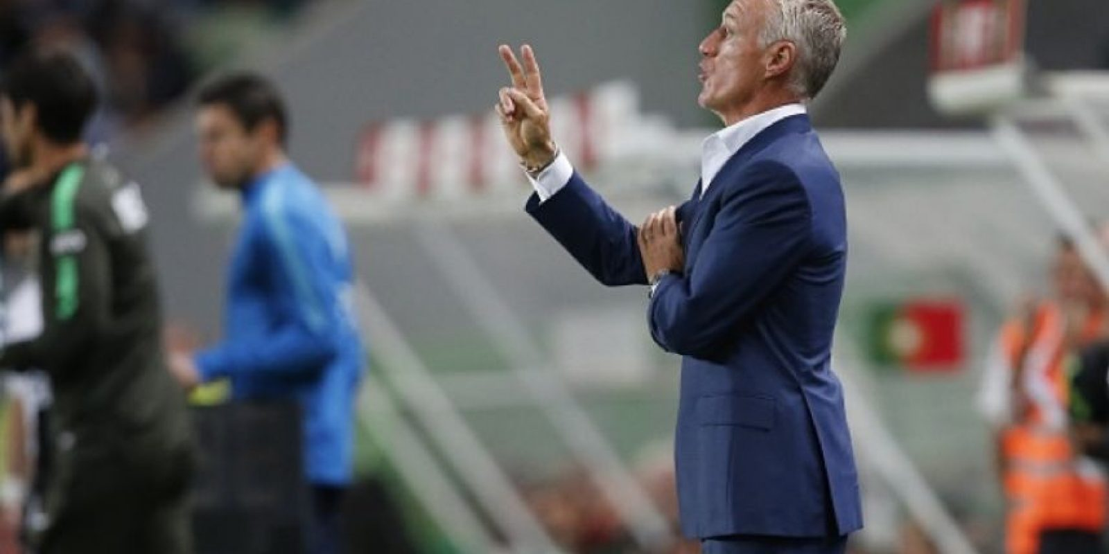Didier Deschamps es el entrenador. Foto:Getty Images