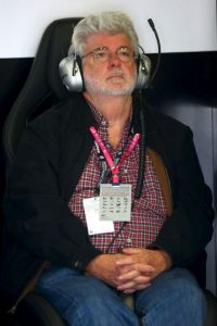 George Lucas durante la competencia. Foto:Getty Images