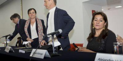 """Por su parte, la Procuradora General de la República, Arely Gómez, aceptó las investigaciones del GIEI y confirmó que """"solicitará un nuevo peritaje con expertos internacionales"""". Foto:AFP"""