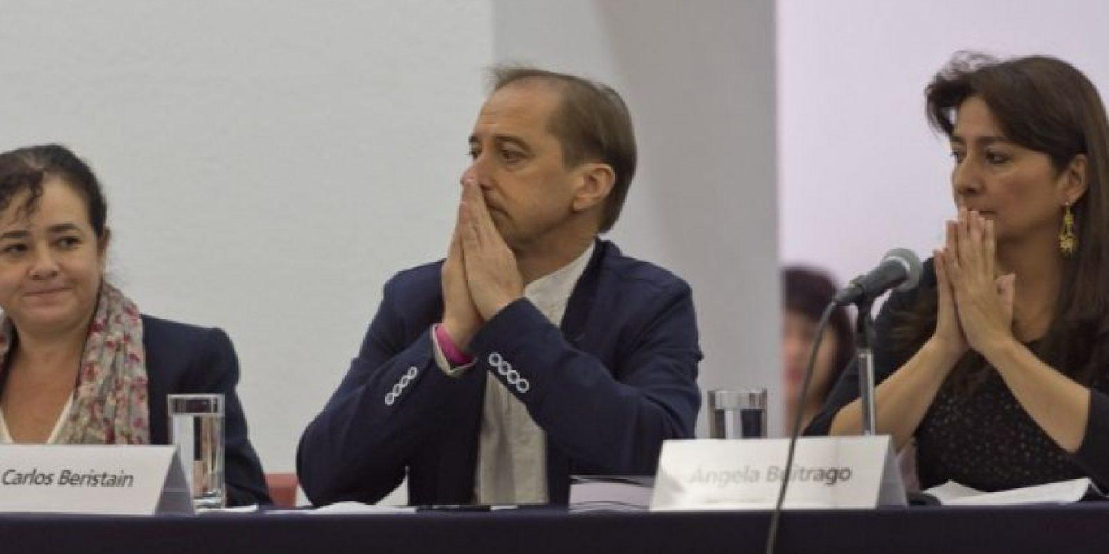 """""""También he dado indicaciones a las dependencias del Gobierno Mexicano parta que analicen cada una de las recomendaciones que han presentado hoy"""", añadió. Foto:AFP"""