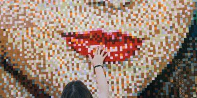 """Para su construcción se necesitaron 35 mil 840 bloques """"Lego"""". Foto:Getty Images"""