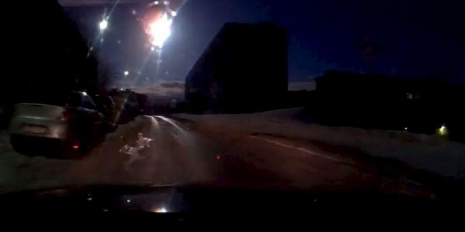 Abril de 2014: un meteorito ilumina el cielo de Rusia Foto:YouTube.com – Archivo