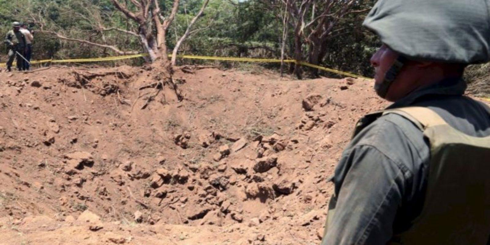 El Gobierno de Nicaragua dio a conocer que una explosión registrada el 8 de septiembre cerca del aeropuerto internacional Augusto C. Sandino de Managua fue a causa de un meteorito que cayó en el lugar, detalló BBC. Foto:AFP