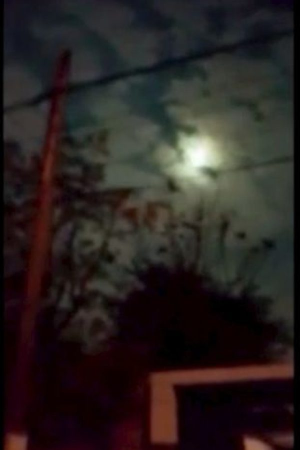 """Julio de 2015: el """"Cielo verde"""" en Argentina Foto:YouTube.com – Archivo"""