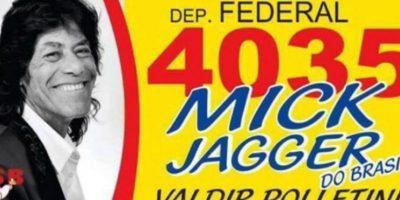 """Mick Jagger"" Foto:Naosalvo.com.br"