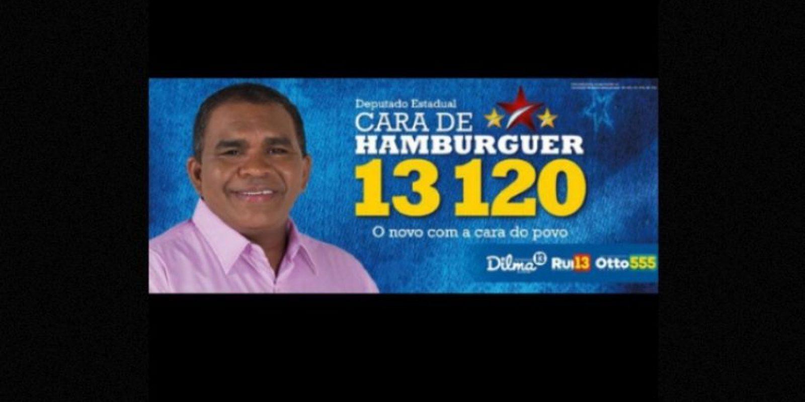 """""""Cara de Hamburguesa"""" Foto:Naosalvo.com.br"""