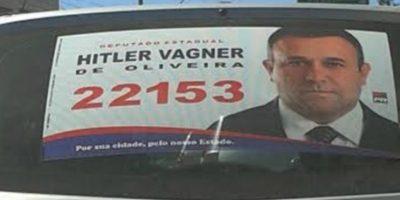 "Alguien de nombre ""Hitler"" Foto:Naosalvo.com.br"