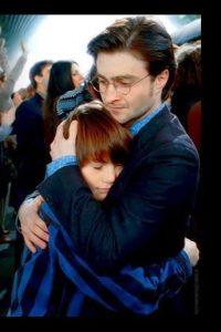"""En la película """"Harry Potter y las Reliquias de la Muerte parte 2"""", se puede ver el primer viaje de """"Albus"""" a """"Hogwarts"""" Foto:vía twitter.com/newbouldhap"""