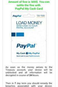 Para liberarlo exige 500 dólares. Foto:vía zscaler.com