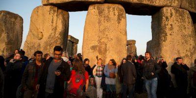 Cientos de turistas en Inglaterra lo visitan. Foto:Getty Images