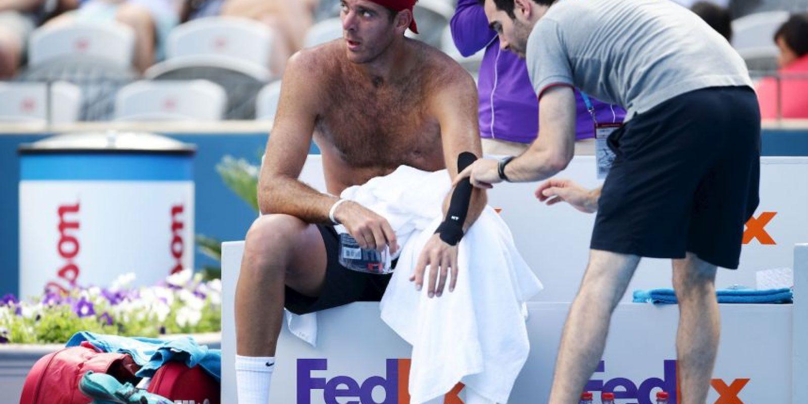 Llegó a ser el cuarto mejor tenista del mundo, en 2010 Foto:Getty Images