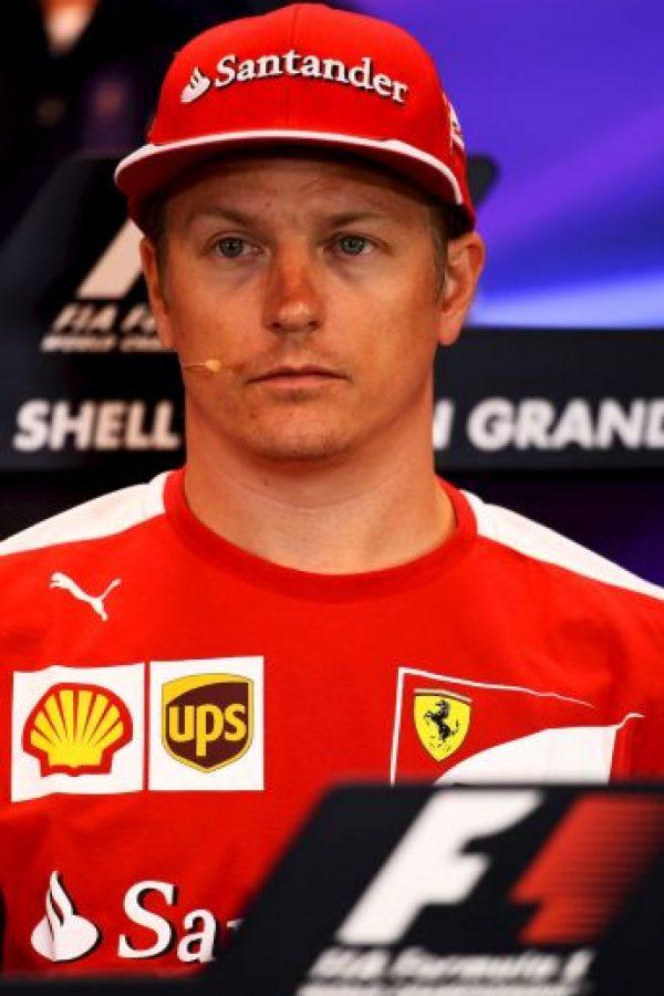 5. Kimi Raikkonen (Ferrari) = 92 puntos. Foto:Getty Images