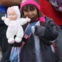Otros son recibidos con juguetes Foto:Getty Images