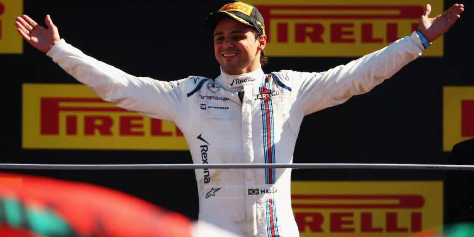 4. Felipe Massa (Williams) = 97 puntos. Foto: Getty Images