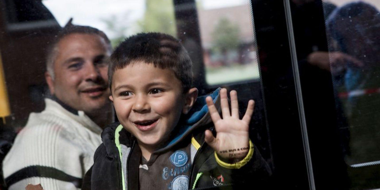 Tras la muerte del niño migrante Aylan Kurdi, estas son las imágenes de la crisis de migrantes en Europa Foto:Getty Images
