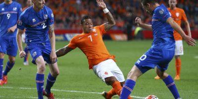 Todos sus futbolistas juegan fuera de sus fronteras, a excepción del portero Gunnleifur Gunnleifsson Foto:AP