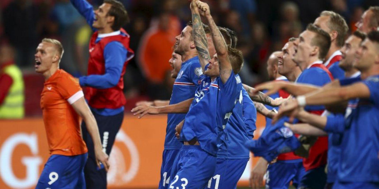 Tienen las mismas unidades que República Checa, pero mejor diferencia de goles con más 12, por más seis de los checos Foto:Getty Images