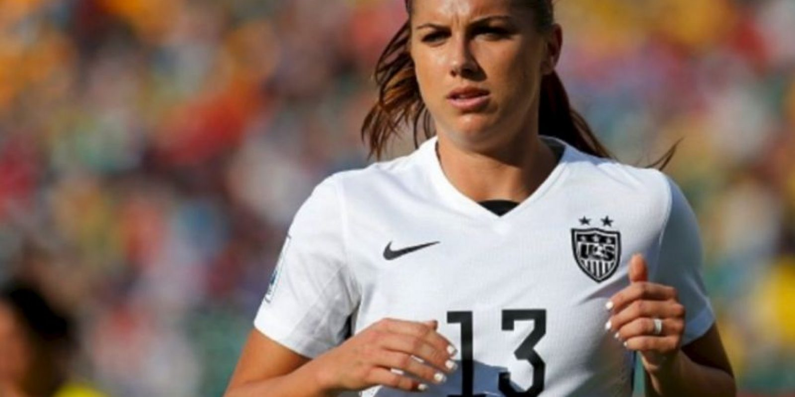 La estadounidense Alex Morgan juega en el Portland Thorns FC Foto: Getty Images