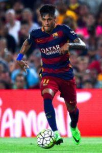 El brasileño juega en el Barcelona de España Foto:Getty Images