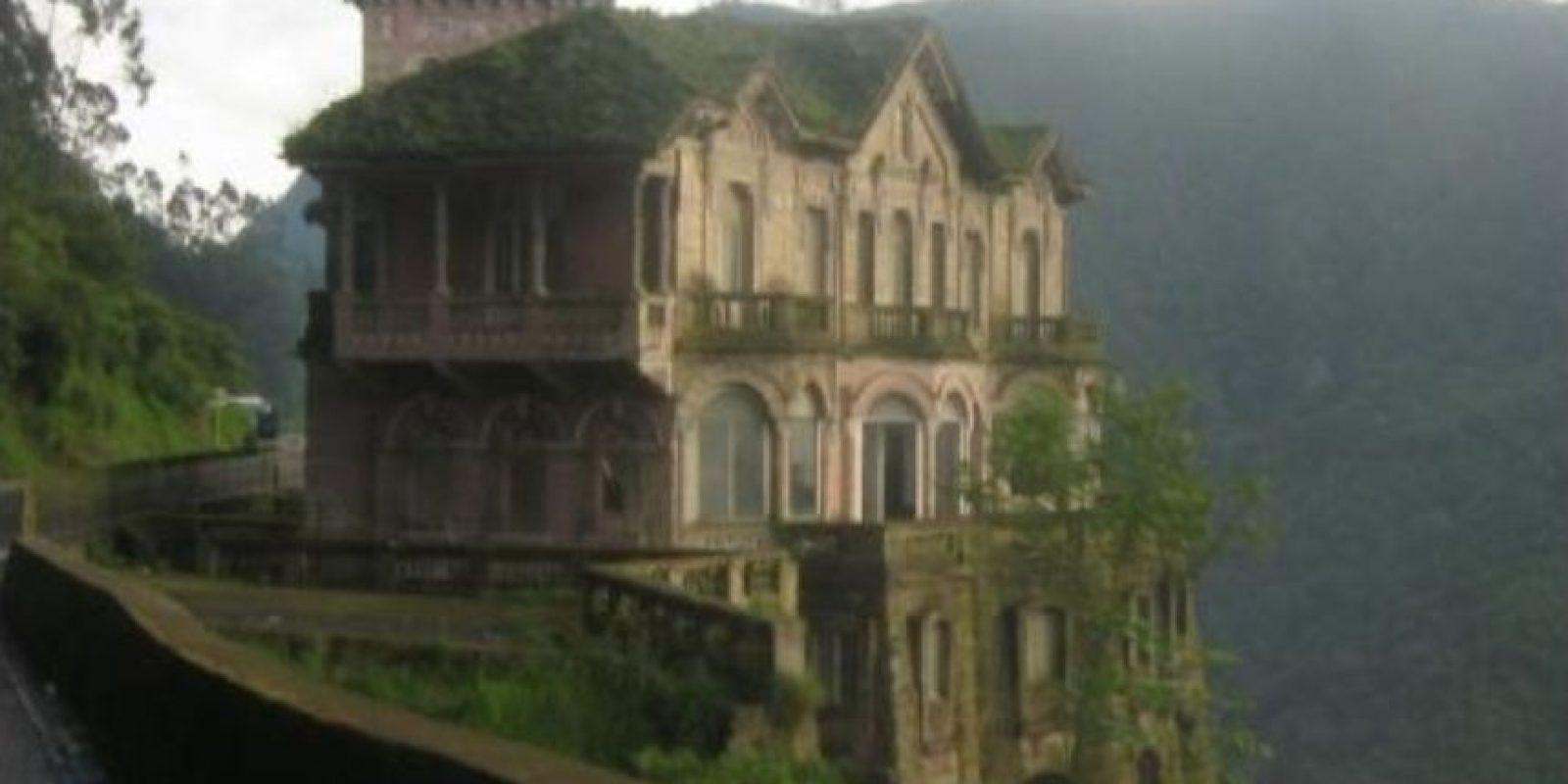 6. Hotel del Salto en Colombia. Fue un hotel de categoría inaugurado en 1924 y, posteriormente, cerrado en 1990. Foto:Wikimedia