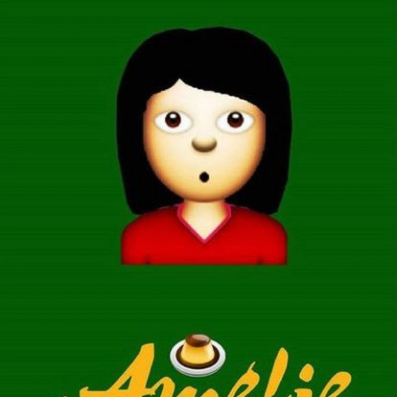 Amélie (2001) Foto:vía emojifilms.tumblr.com