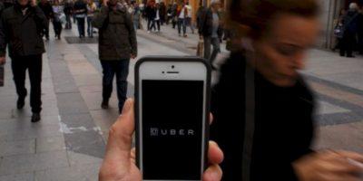"""Los taxistas de la capital mexicana argumentaban que Uber """"promueve la competencia desleal"""", """"es irregular"""", """"ilegal"""" y """"sus conductores no están capacitados"""" Foto:Getty Images"""