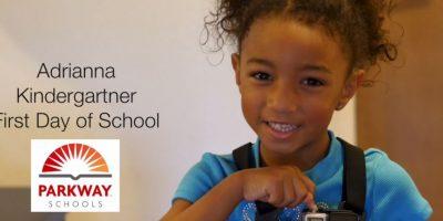 Video: Niña capturó su primer día de preescolar con una cámara GoPro