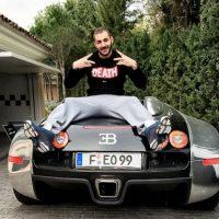 También estrelló su Audi en 2009, cuando recién había llegado al conjunto merengue. Foto:Vía instagram.com/karimbenzema