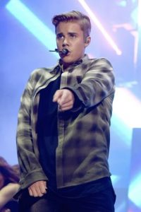 """""""Fue muy emotivo para mí. Todo. No esperaba que me apoyaran de la forma en la que lo hicieron"""", contó Bieber al presentador Jimmy Fallon. Foto:Getty Images"""