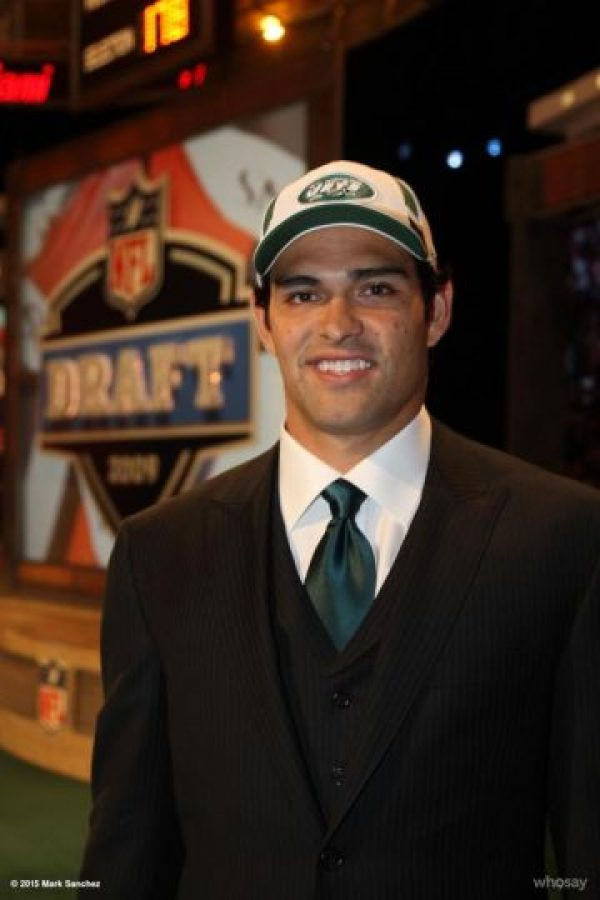 6. Mark Sánchez (Philadelphia Eagles) Foto: Vía instagram.com/mark_sanchez