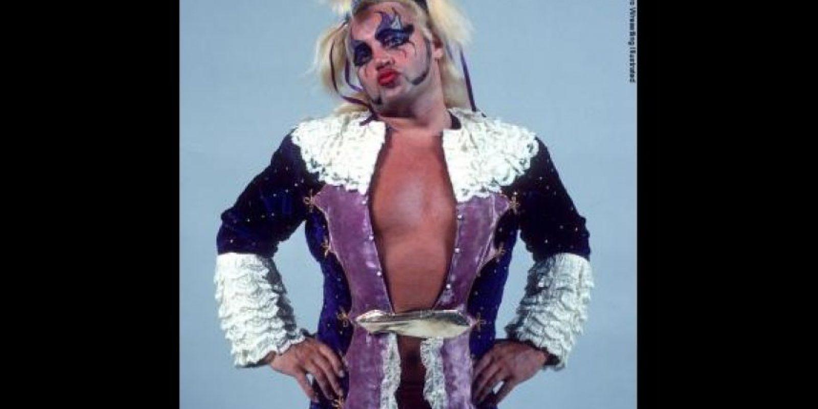 """""""Exotic"""" Adrian Street utilizaba el maquillaje como parte de su personalidad Foto:WWE"""