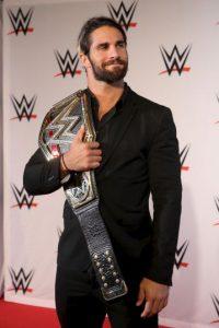 Seth Rollins es un luchador de la WWE, su nombre real es Colby López. Foto:Getty Images