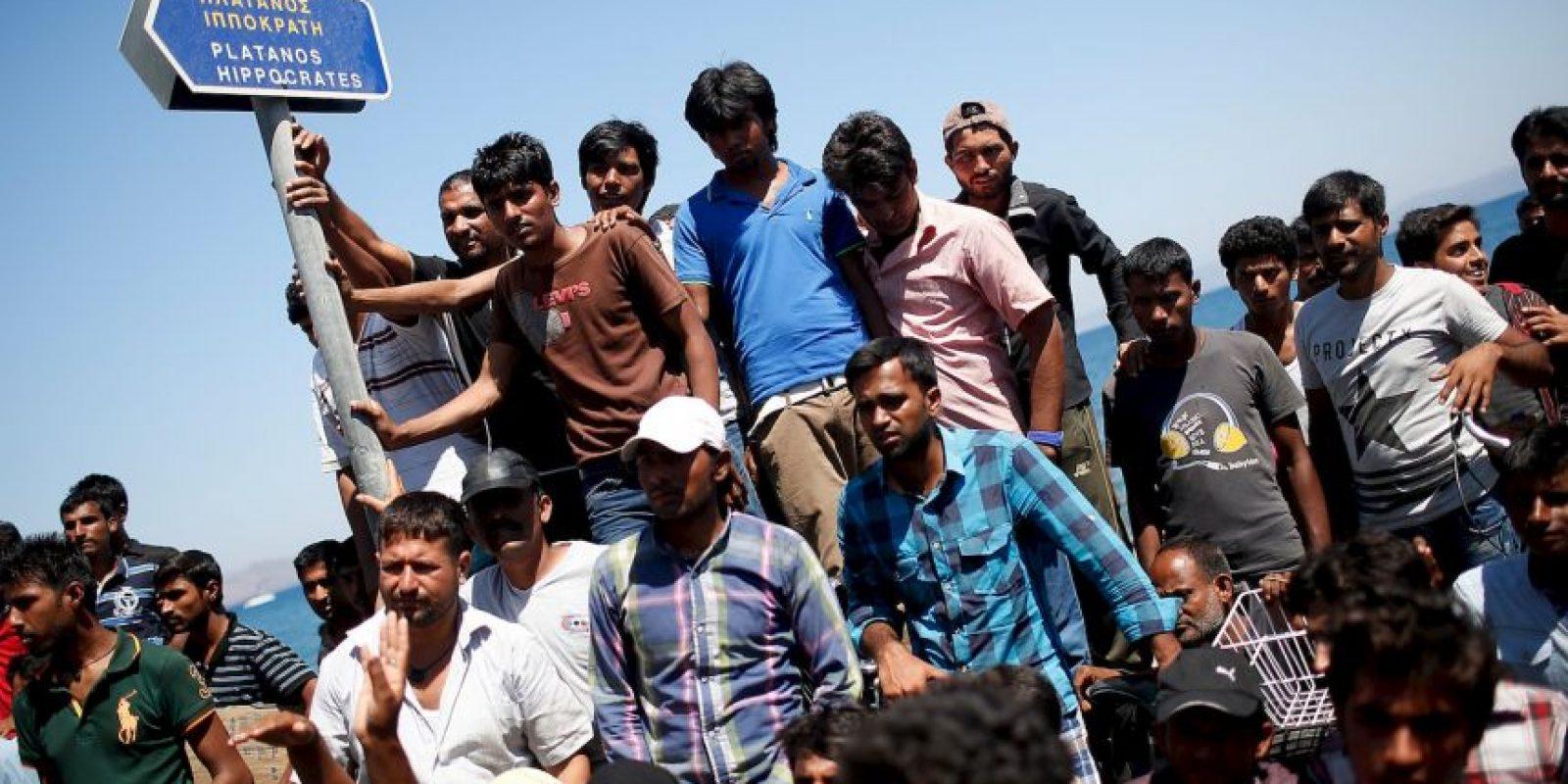 Europa vive una grave crisis migratoria. Foto:Getty Images