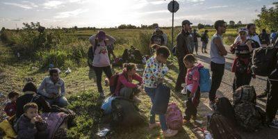 La crisis migratoria ha motivado a Francia y a Inglaterra a intensificar ataques. Foto:Getty Images