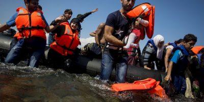 Sin embargo, las estimaciones del Gobierno alemán es que el número de refugiados que pedirá asilo a su país podrían llegar a 800 mil personas. Foto:Getty Images