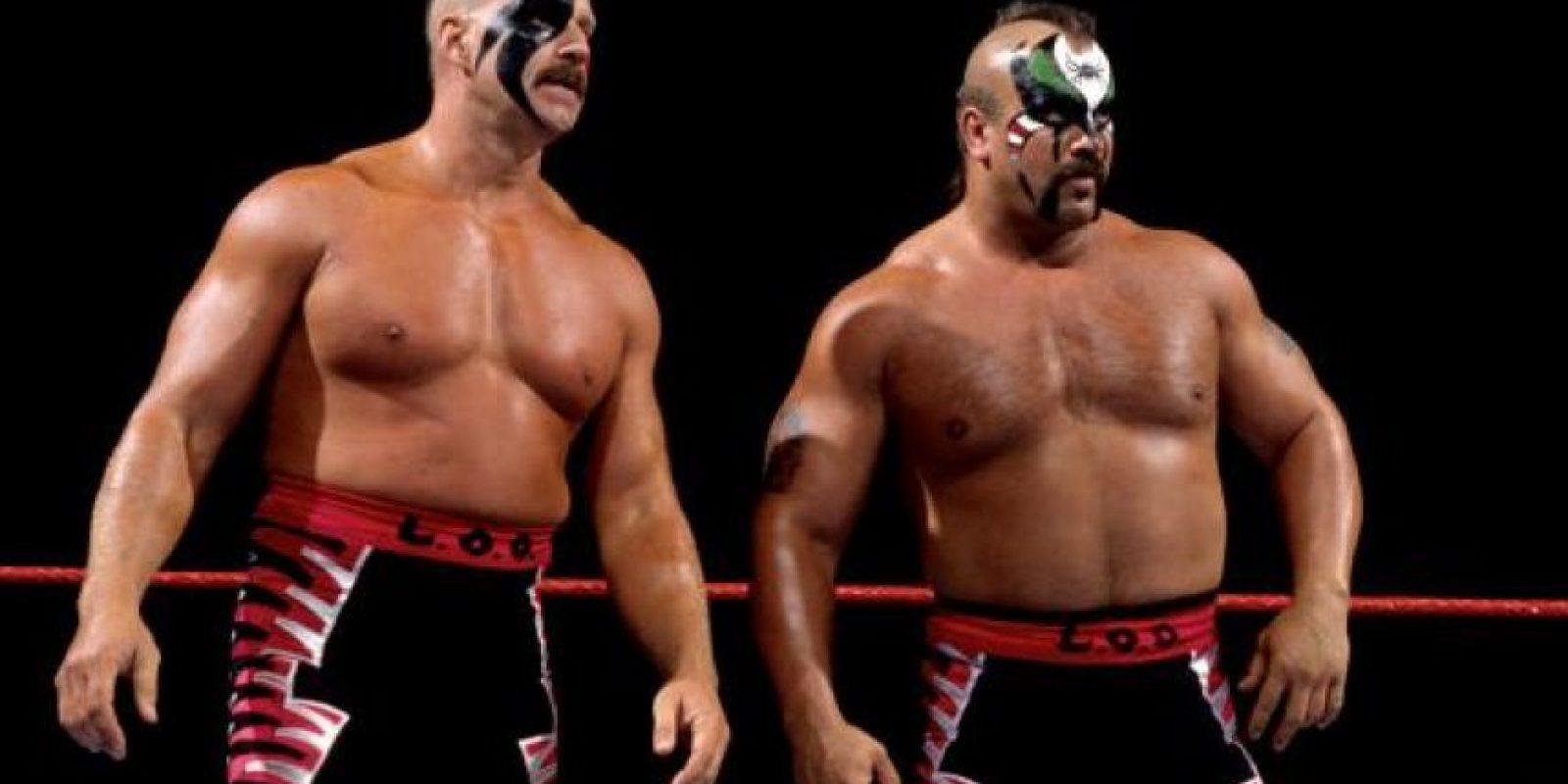 Conocidos como Road Warriors son una de las parejas más ganadoras de la lucha libre Foto:WWE