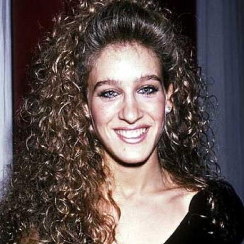 Sarah Jessica Parker cometía horrores con su maquillaje. Foto:vía Getty Images