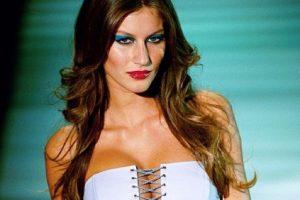 Gisele Bündchen era maquillada según los tiempos. Foto:vía Getty Images