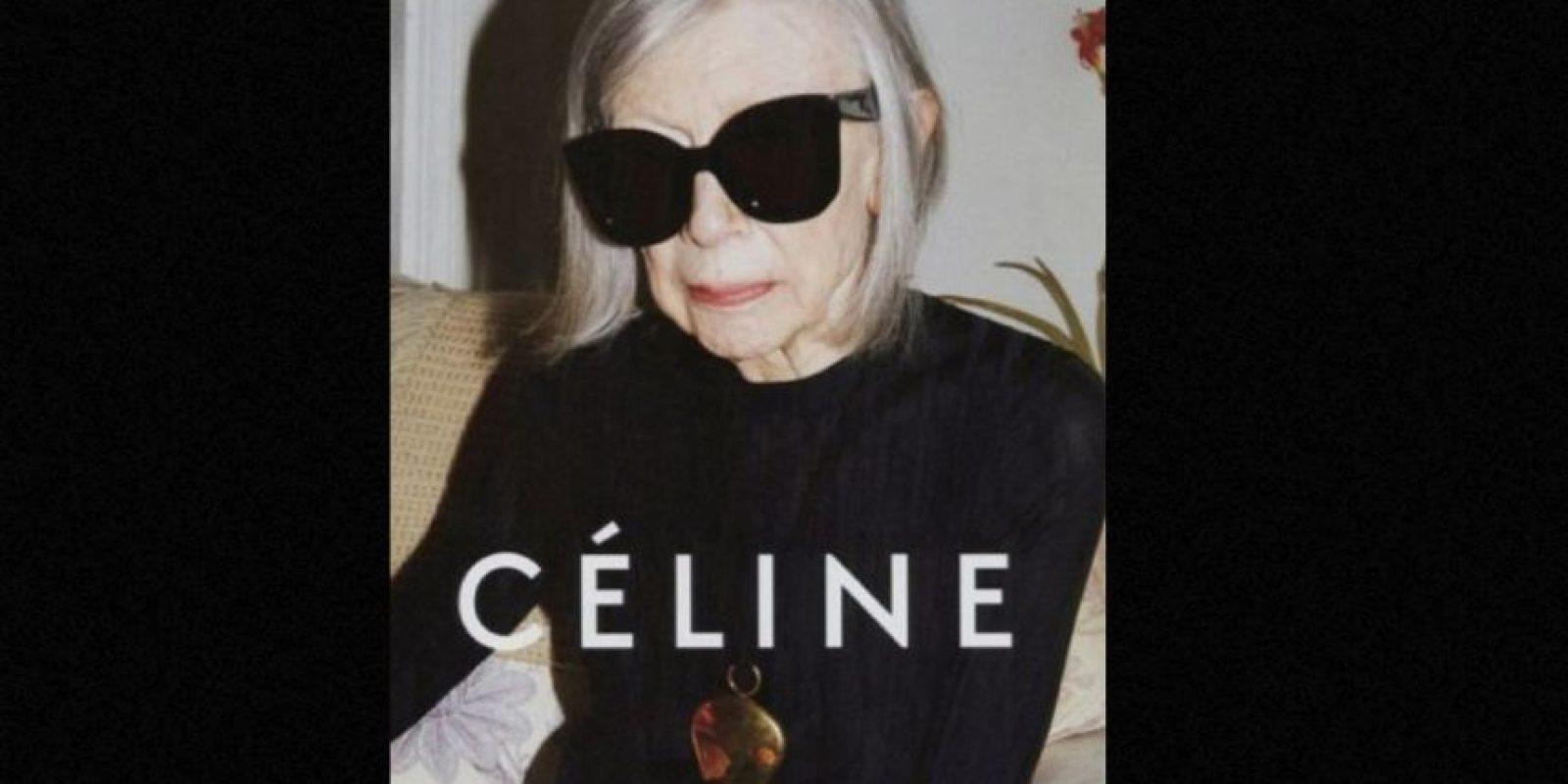 Joan Didion, para Céline. Foto:vía Céline