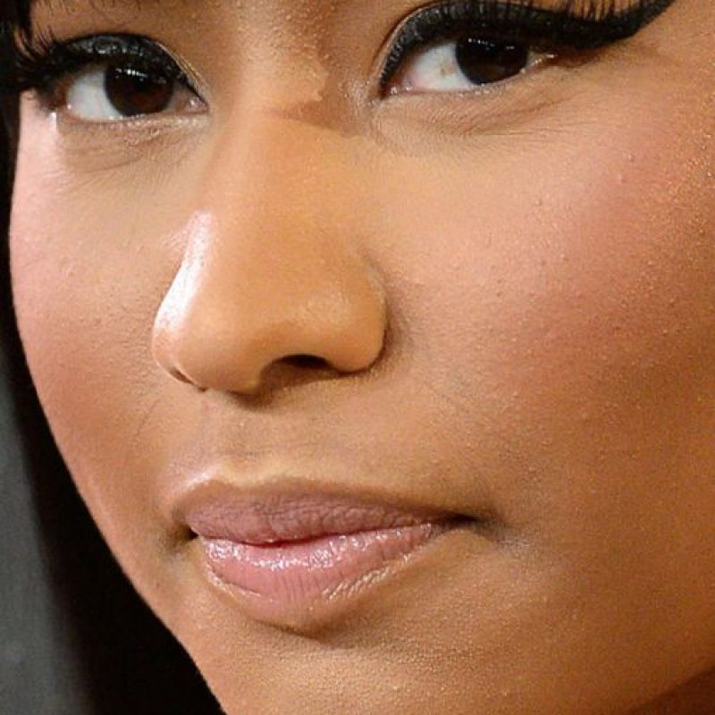 Los granitos de Nicki Minaj. Foto:vía Celebrity Closeup/Tumblr