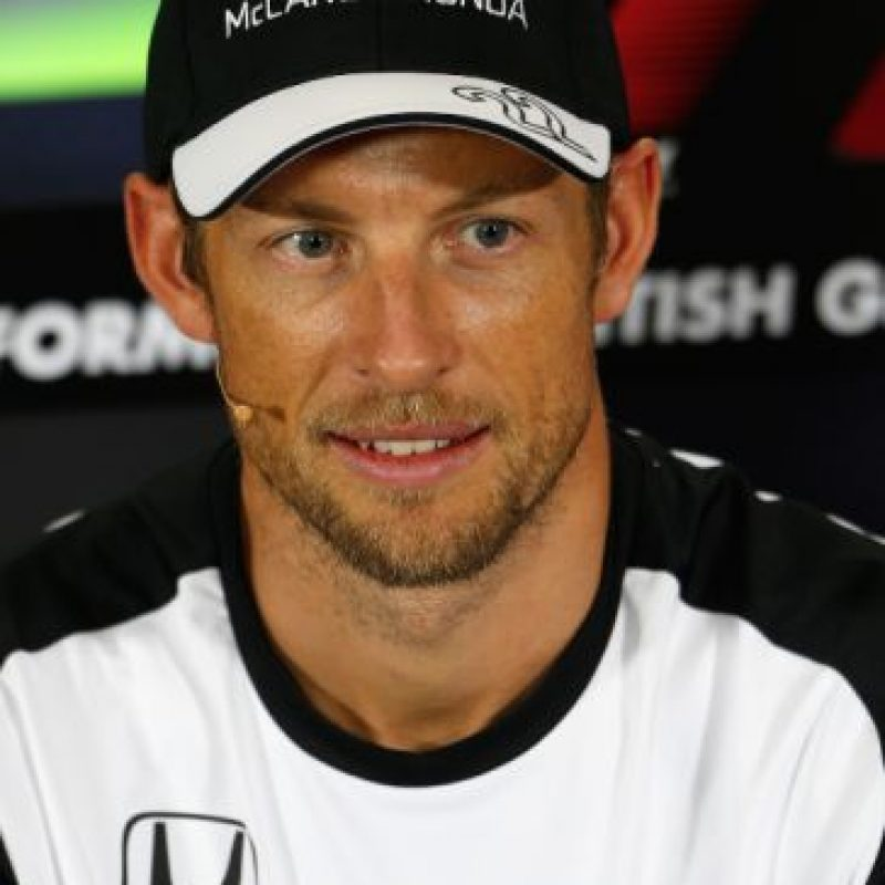 6. Jenson Button (McLaren): 11 millones de dólares. Foto:Getty Images
