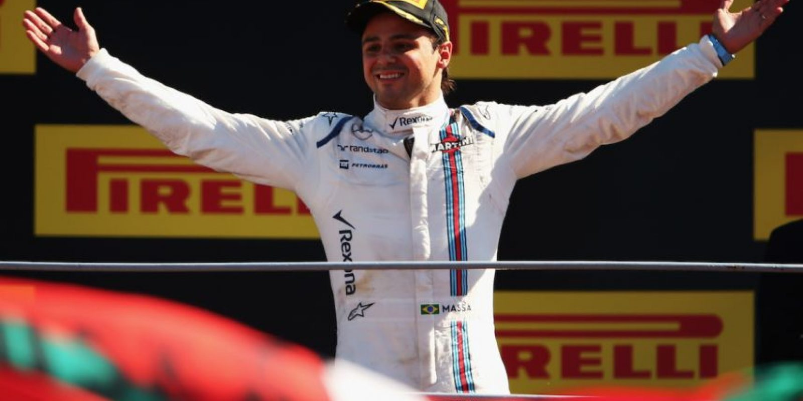 7. Felipe Massa (Williams): 4.5 millones de dólares. Foto:Getty Images