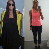 Se deshizo de 85 kilos en menos de un año Foto:Vía instagram.com/simone_anderson