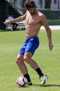 """""""Feli"""" fue un boom en este US Open por su físico, y aunque perdió con Djokovic en octavos de final, se quedó con los suspiros del 2% de las encuestadas. Foto:Vía facebook.com/FelicianoLopezTP"""