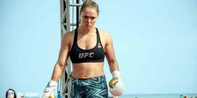 Rousey, de 28 años, se mantiene invicta en su carrera en artes marciales mixtas con un récord de 12-0. Foto:UFC